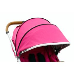 OYSTER ZERO strieška na kočík Wow Pink