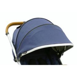 OYSTER ZERO stříška ke kočárku, Oxford Blue 2017