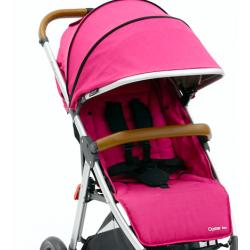 OYSTER ZERO set: sedací část textil + stříška, Wow Pink 2017