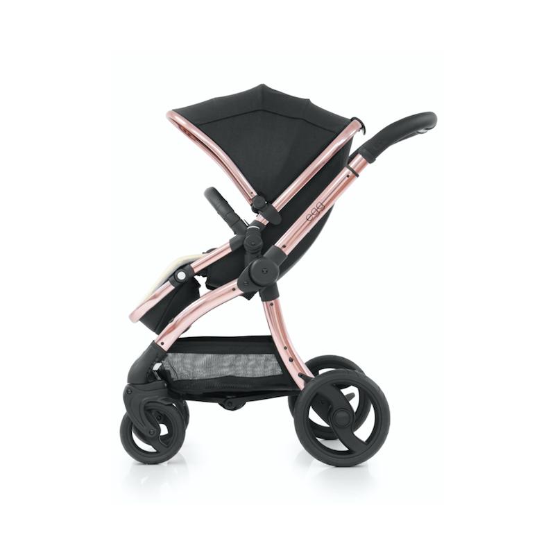 BabyStyle EGG kočárek Diamond Black / Rose Gold 2020