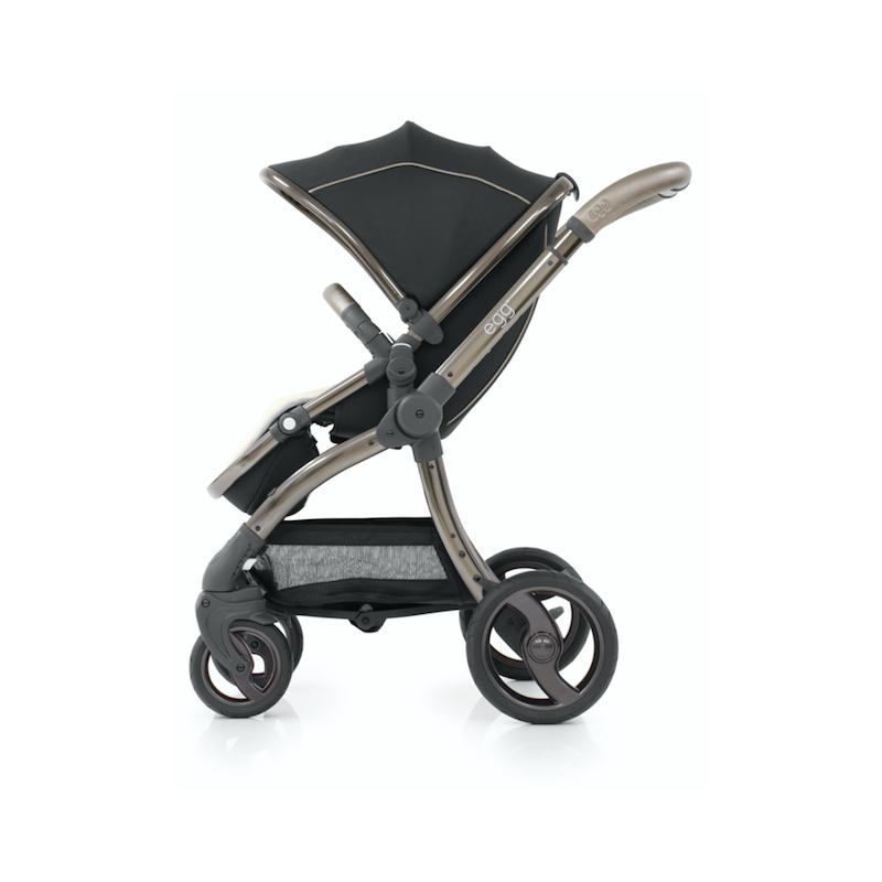 BabyStyle EGG kočárek Shadow Black/ Black rám 2019