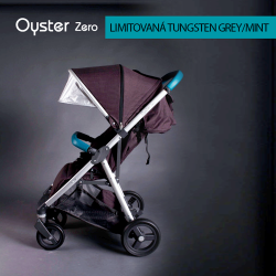 BabyStyle Oyster Zero kočárek LIMITED EDITION TUNGSTEN GREY/MINT 2018