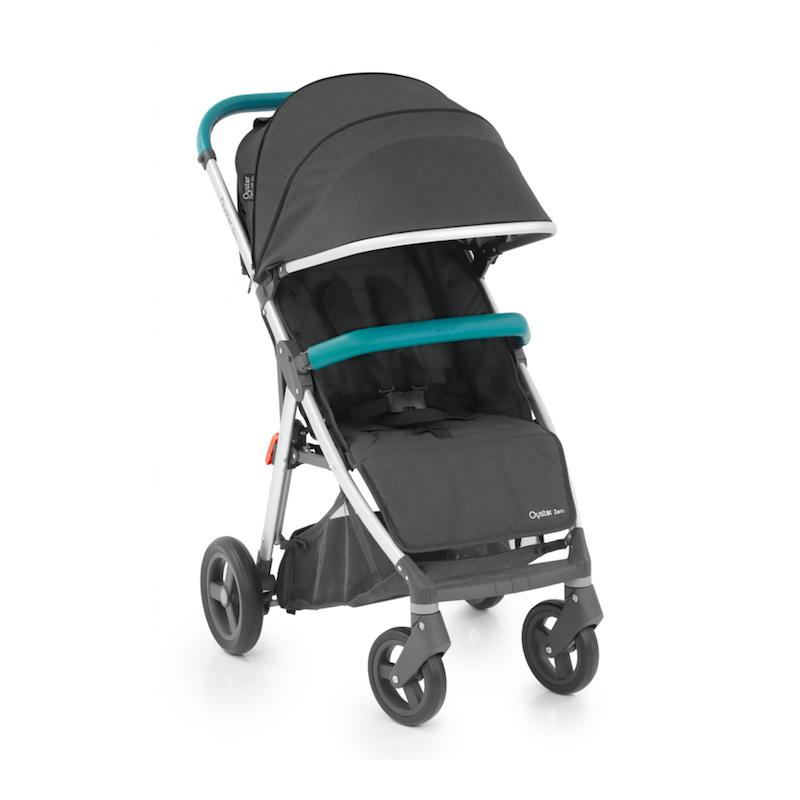 BabyStyle Oyster Zero kočárek Tungsten Grey/Mint 2019 - Limited Edition