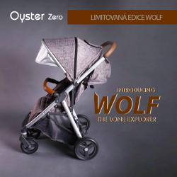 BabyStyle Oyster Zero kočík LIMITED EDITION WOLF GREY 2018