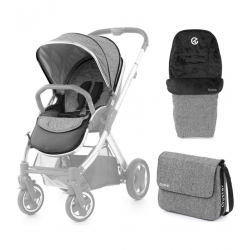 BabyStyle Oyster 2/ Max colour pack Wolf Grey 2018