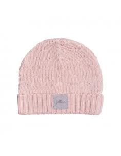 Jollein Čepice 2 - 9 měsíců Soft knit creamy peach