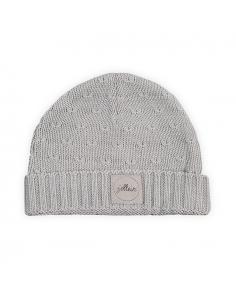 Jollein Čepice 9 - 18 měsíců Soft knit light grey