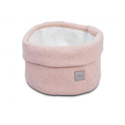 Jollein Košík Soft knit creamy peach