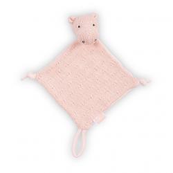 Jollein Mazlík Soft knit hippo creamy peach