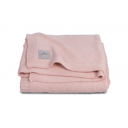Jollein Deka 100x150 Soft knit creamy peach