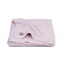 Jollein Deka 100x150 Confetti knit vintage pink