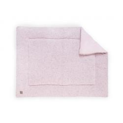Jollein Hrací deka 80x100 Confetti knit vintage pink