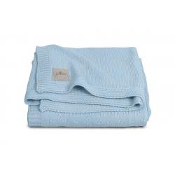 Jollein Pletená deka 75x100 Soft knit soft blue