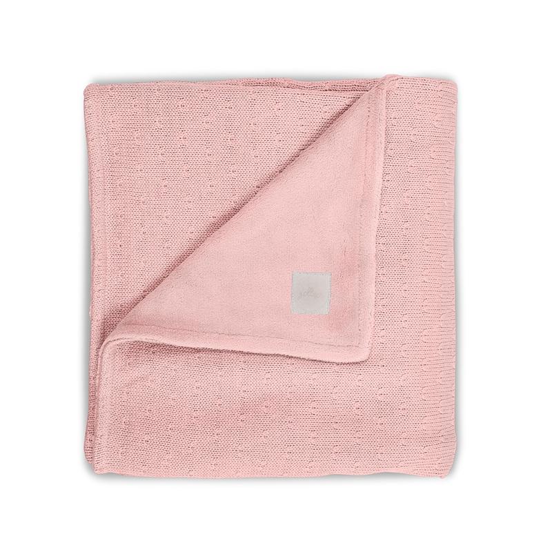 Jollein Deka 75x100 Soft knit creamy peach