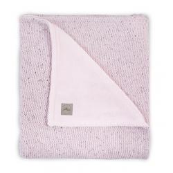 Jollein Deka 75x100 Confetti knit vintage pink / teddy