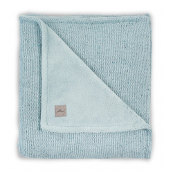 Jollein Deka 75x100 Confetti knit stone green / teddy