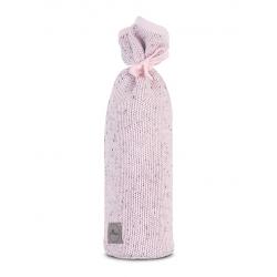 Jollein Obal na horkou láhev Confetti knit vintage pink