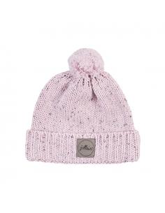 Jollein Čepice 9 - 18 měsíců Confetti knit vintage pink