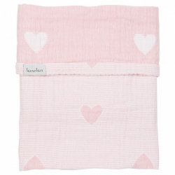 Koeka Deka Altea Hearts 75x100 - water pink