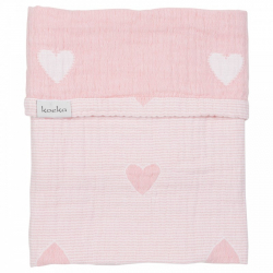 Koeka Deka Altea Hearts 75x100 - blush pink
