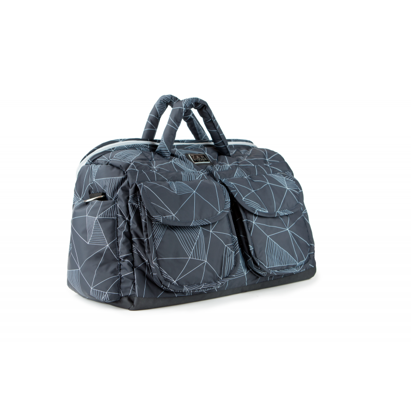 7AM Enfant Voyage taška, Black Geo
