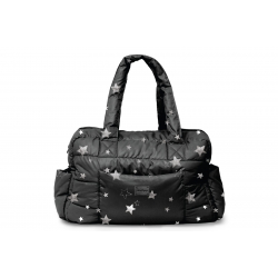 7AM Enfant SoHo taška, Print Black Stars