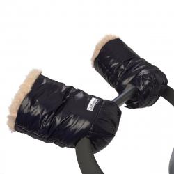 7AM Enfant WarMMuffs rukavice na kočárek, Black