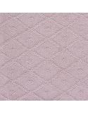 Jollein Deka 75x100 Diamond knit vintage pink