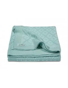 Jollein Deka 75x100 Diamond knit vintage green