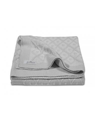 Jollein Deka 75x100 Diamond knit grey