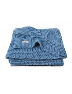 Jollein Deka 75x100 Heavy knit blue