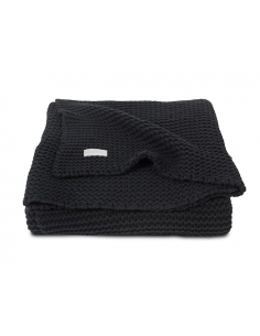 Jollein Deka 75x100 Heavy knit black