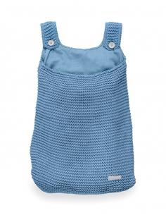 Jollein Pytel na hračky Heavy knit blue