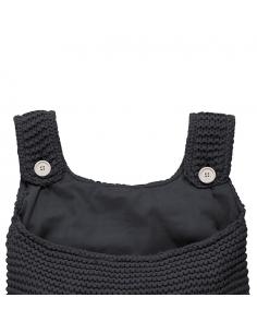 Jollein Pytel na hračky Heavy knit black