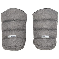 7AM Enfant WarMMuffs rukavice na kočárek Heather Grey
