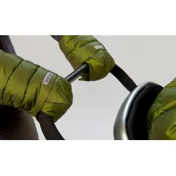 7AM Enfant WarMMuffs rukavice na kočárek Metallic Leaf