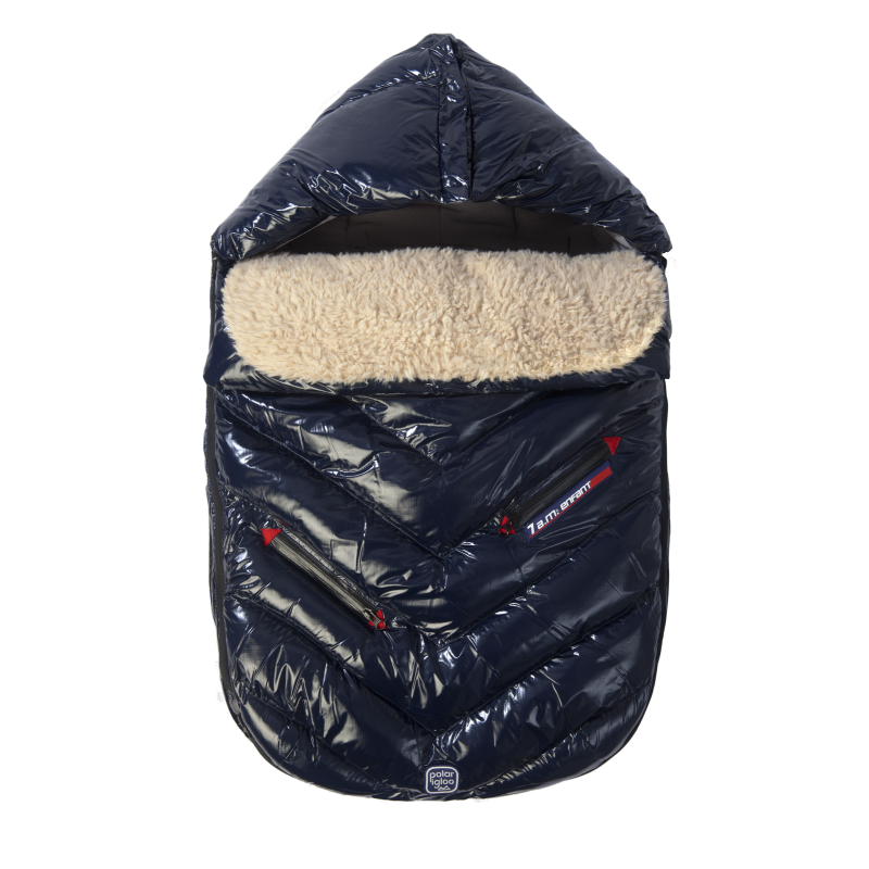 7AM Enfant Polar Igloo fusak Oxford Blue