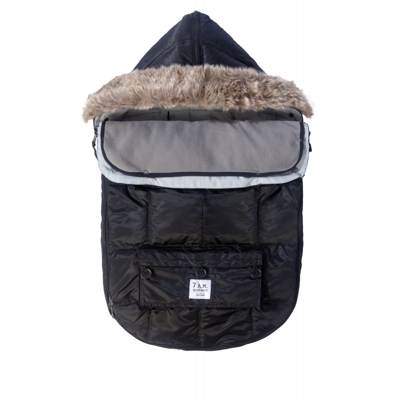 7AM Enfant Le Sac Igloo fusak Black