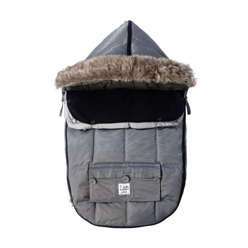 7AM Enfant Le Sac Igloo fusak Grey
