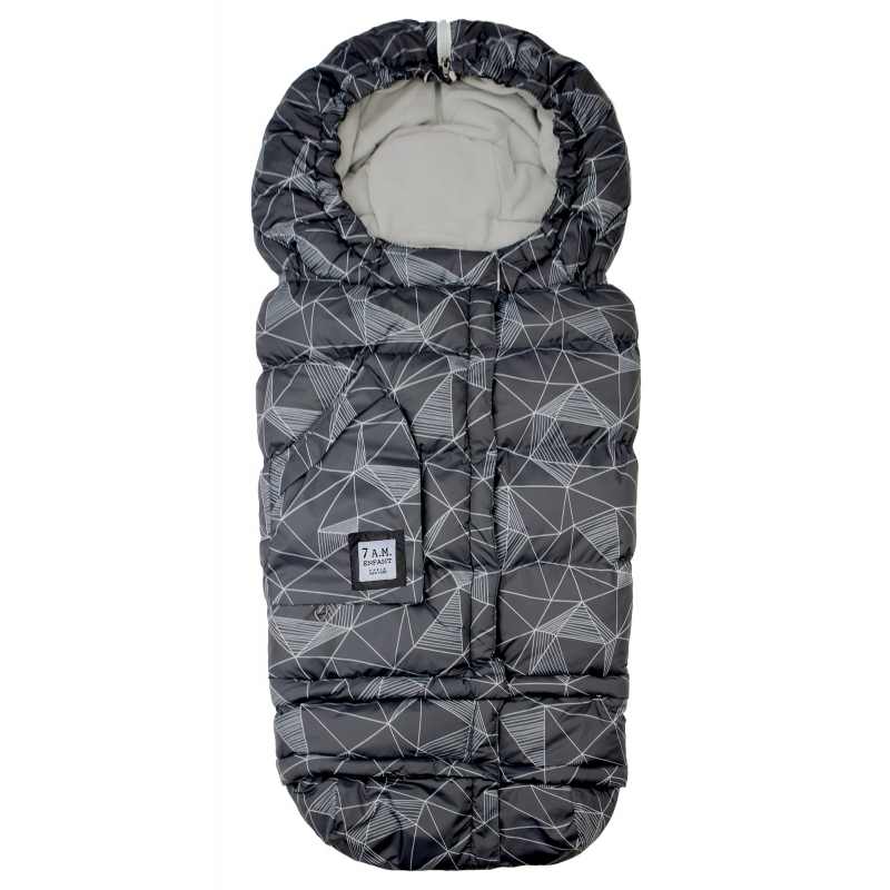 7AM Enfant Blanket 212 Evolution fusak Black Geo