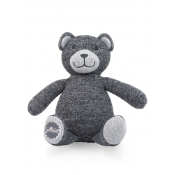 Jollein Pletený medvídek Natural knit anthracite