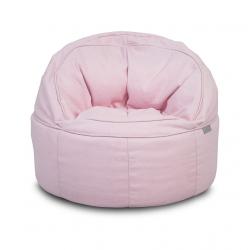 Jollein Křesílko Sofa beanbag Canvas vintage pink