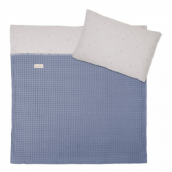 Koeka Duvet cover Love me sweet, soft blue