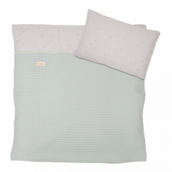 Koeka Duvet cover Love me sweet, misty mint