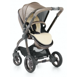 BabyStyle EGG kočárek + taška + podložka TITANIUM/Black rám 2018