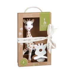 Vulli Set žirafa Sophie + kousátko Sophie So'Pure