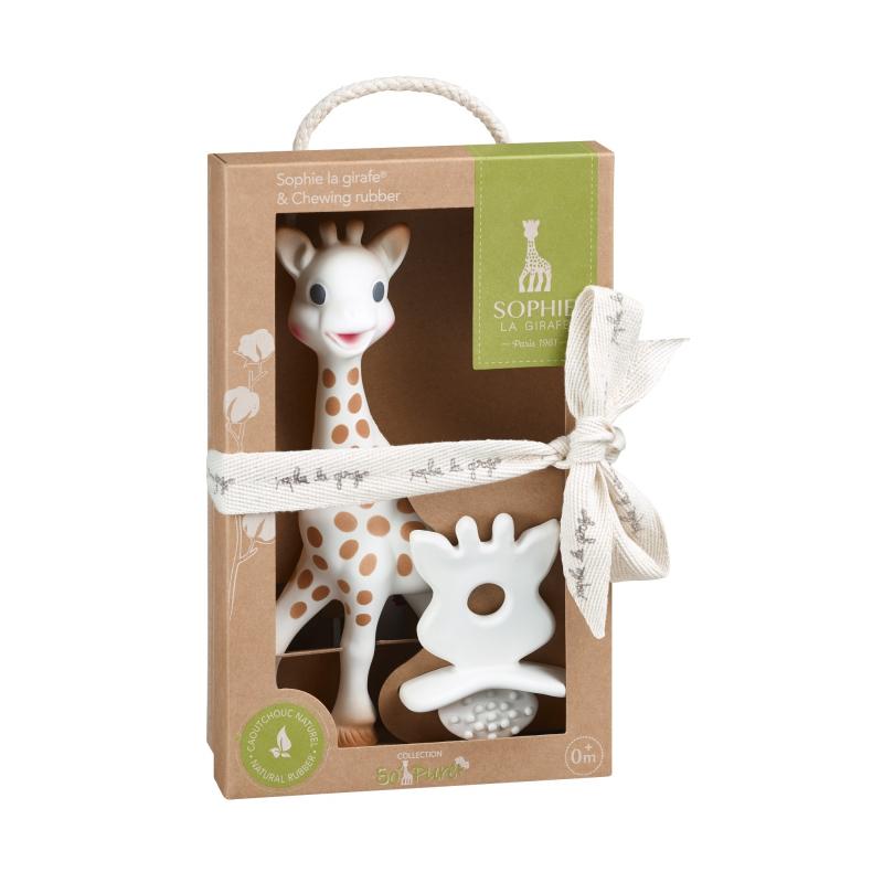 af2c8fe91091 Vulli Set žirafa Sophie + kousátko Sophie So Pure - BABYHOLDING