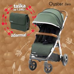 BabyStyle Oyster Zero kočík Olive Green