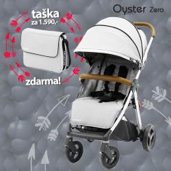 BabyStyle Oyster Zero kočík Pure Silver