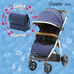 BabyStyle Oyster Zero kočárek Oxford Blue 2018 + taška ZDARMA